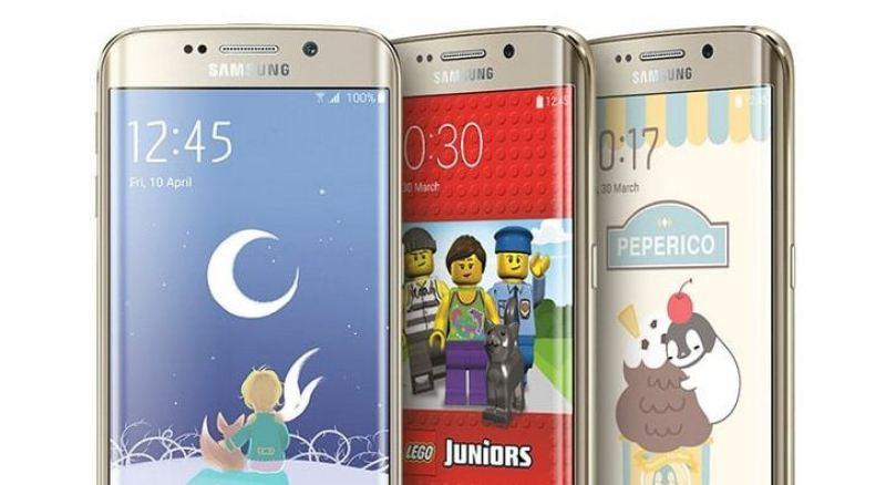 Samsung Galaxy S6 edge screen