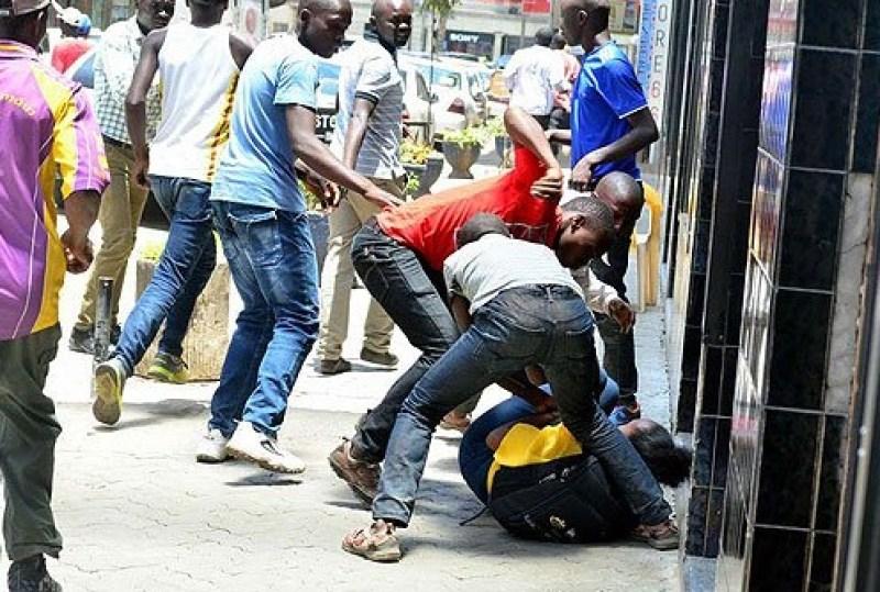 Nairobi CBD mugging