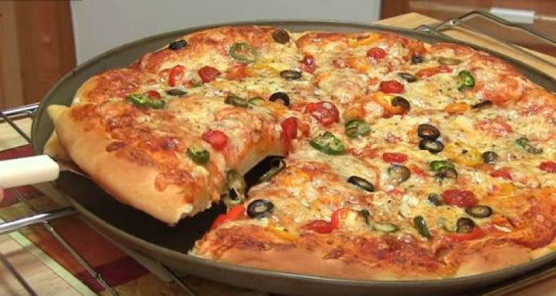 Tu PIZZA preferida Homemade-pizza-cooking-recipe