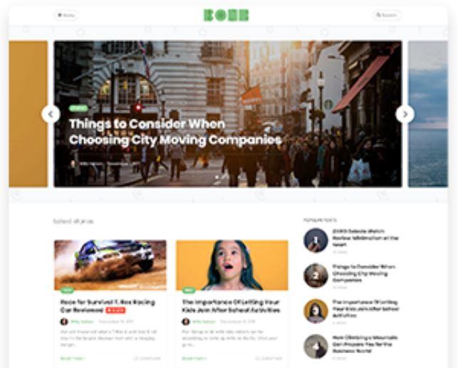 Bone WordPress theme