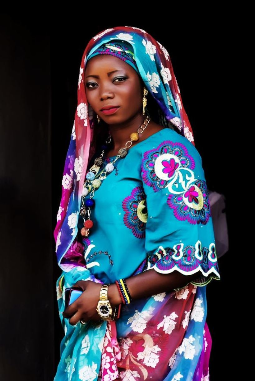 cute coastal dress for Kenyan women