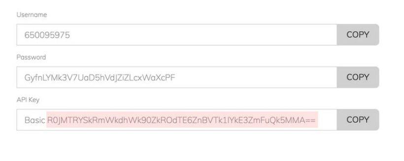 Jenga Payment Gateway Integration API keys