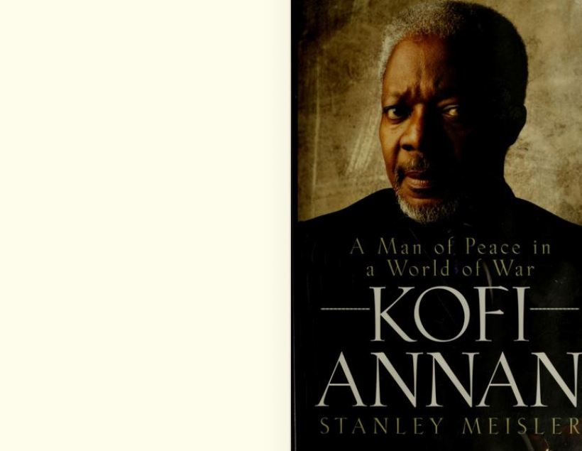 Best books about kofi annan background education and leadership