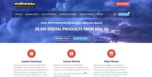 Ways of how Campus students can make money online in Kenya through Muthurwa marketplace