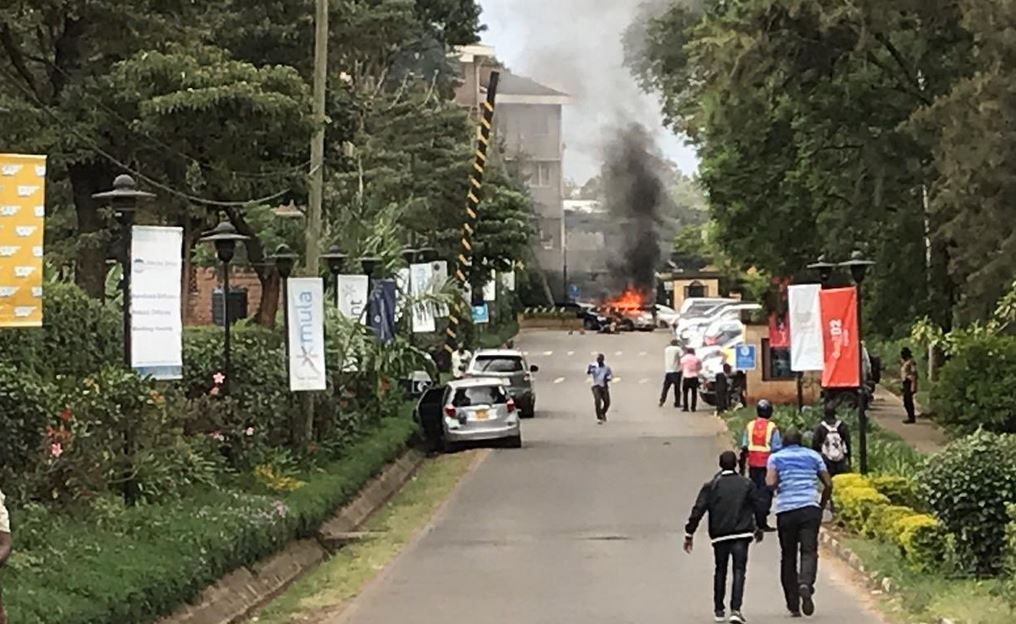 Riverside near Drive near Dusit Hote attack