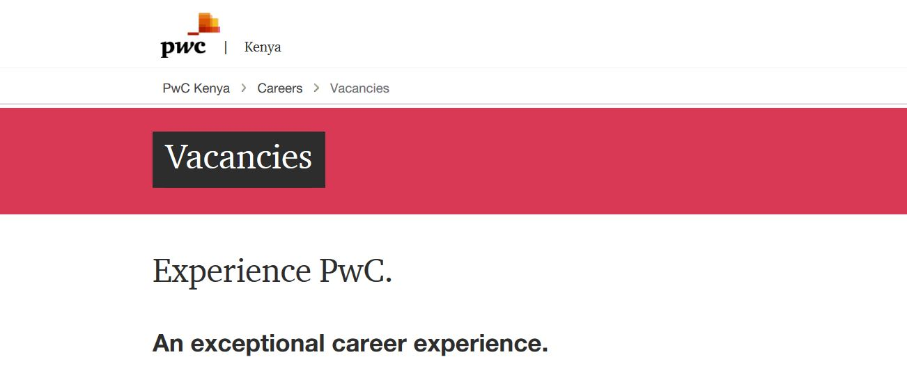 Working at PWC as Graduate Trainee, Job Requirements and How to apply online