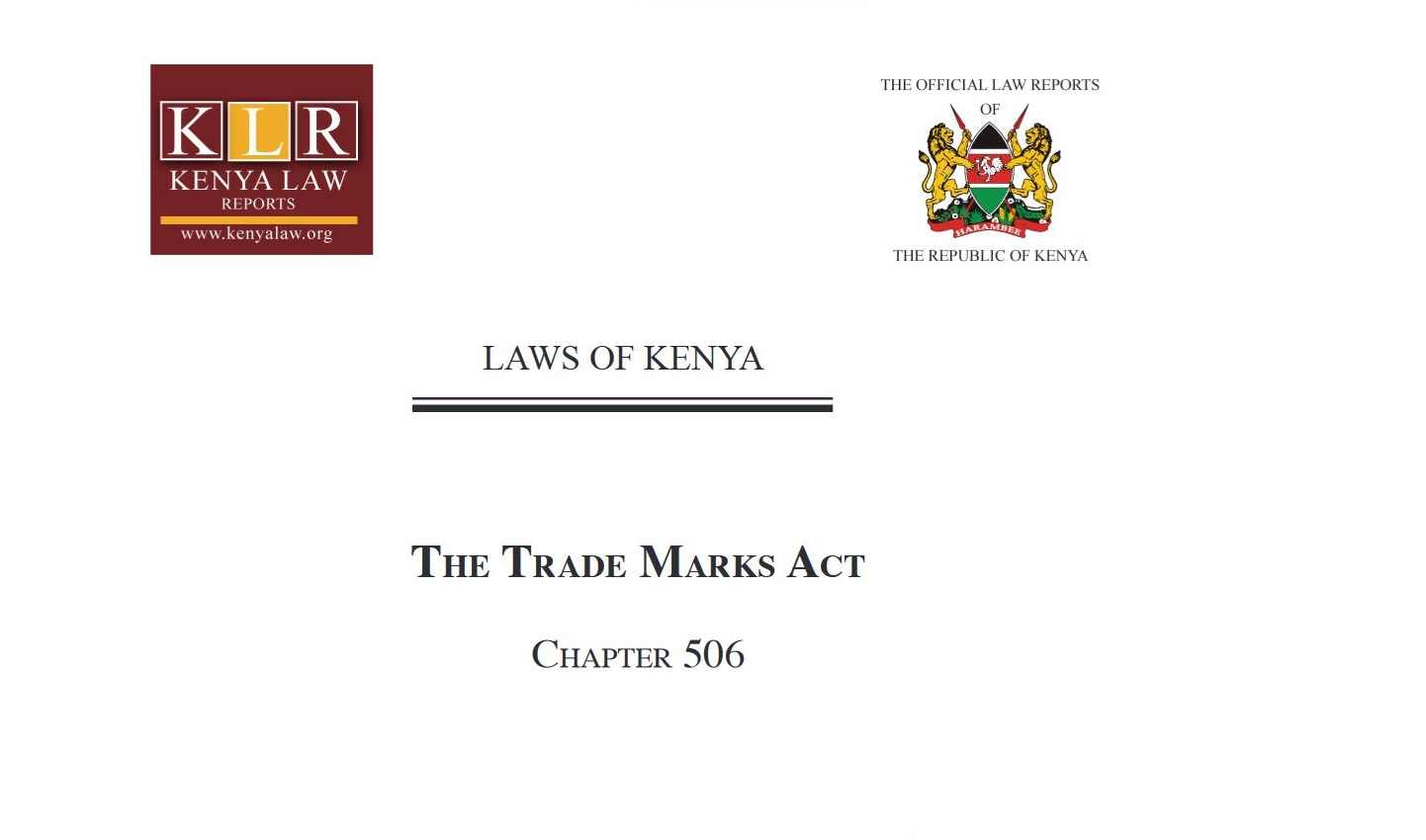 Procedure of How To Register a Trademark in Kenya for Symbol, Word and Desig