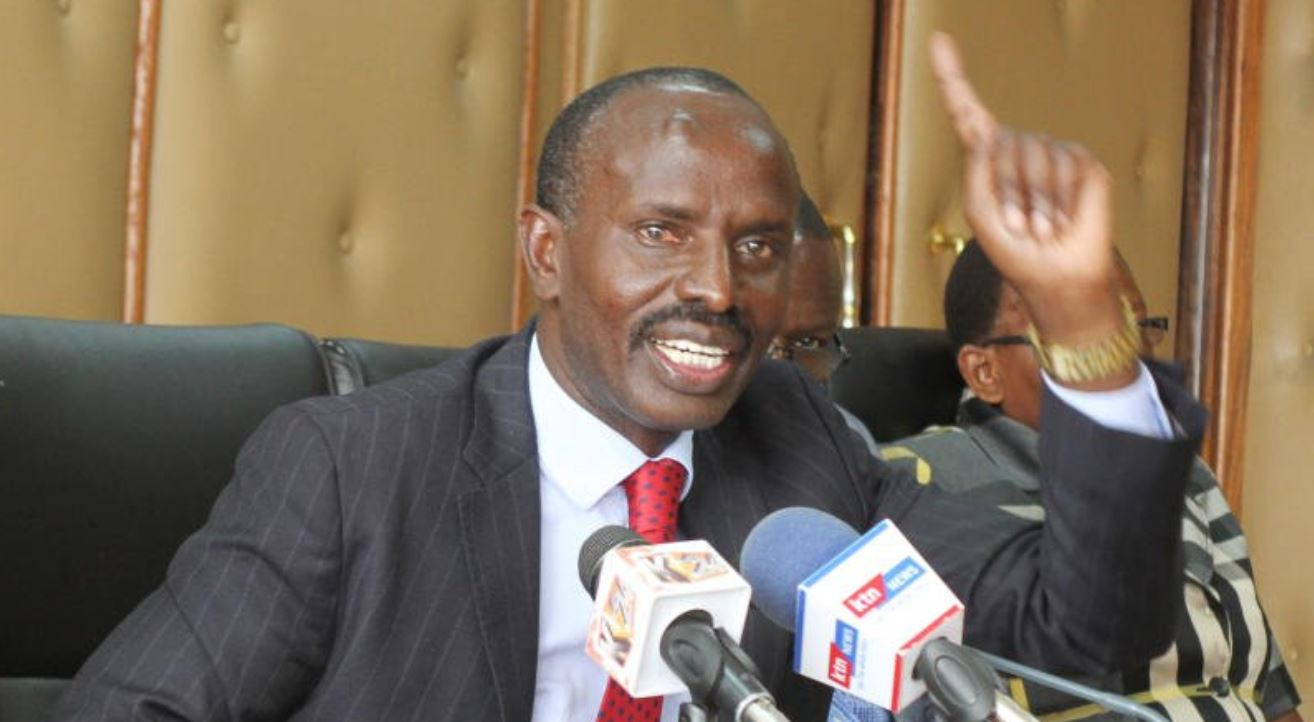 teachers storm KNUT headquarters, want Sossion kicked out
