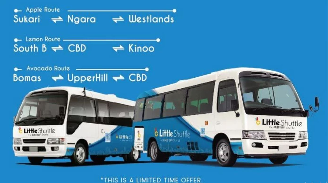 why little shuttle is stopping its operation in kenya