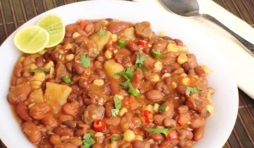 Kenyan Githeri Meal