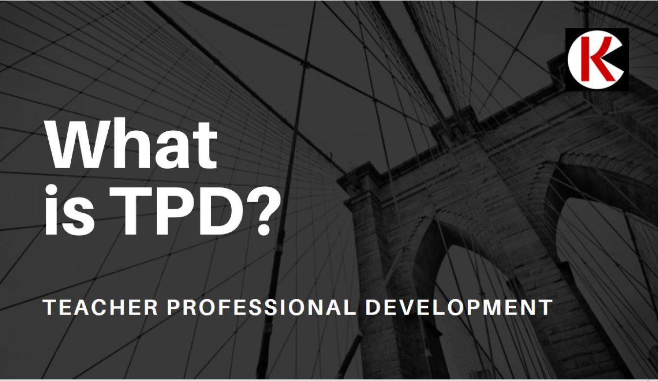 TSC teacher professional development (tpd) training programme update