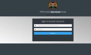 PPB portal website Registration, login and license renewal guide