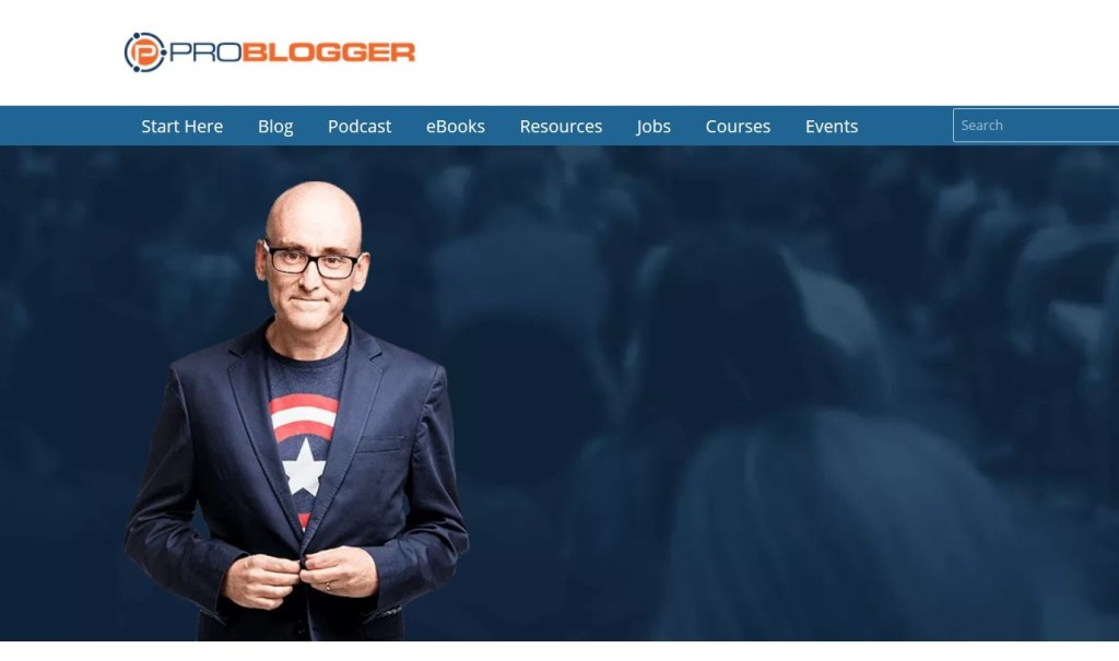 Problogger.com Website Review on technology use to built the site