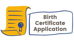 Birth Certificate application procedure in kenya