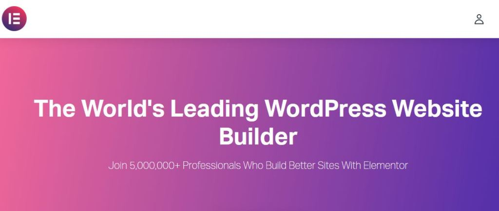 Elementor, website page builder