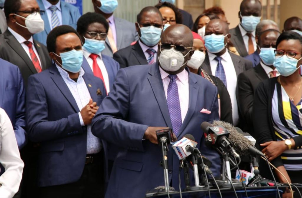 Magoha announces October 2020 as re-opening dates and KCSE, KCPE start day
