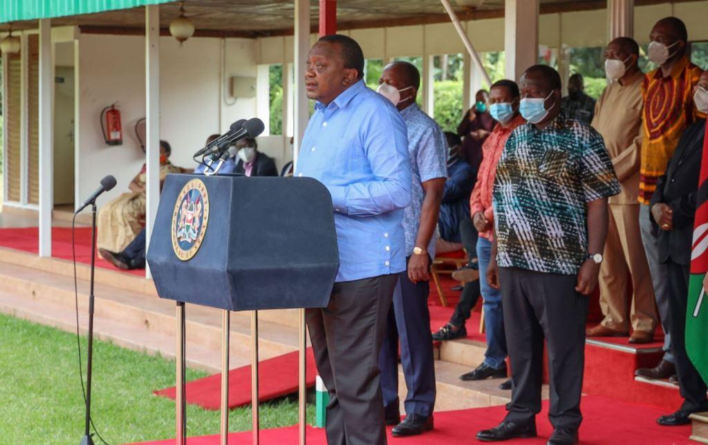 president uhuru kenyatta speech on closure of schools