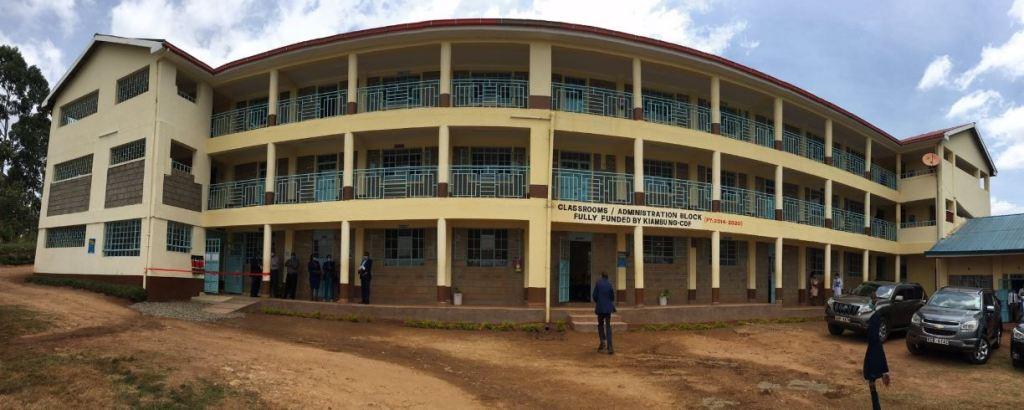 Kiu River Secondary School cdf