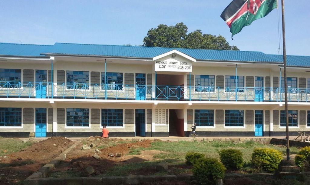 Masiyenze primary school tuition block cdf building