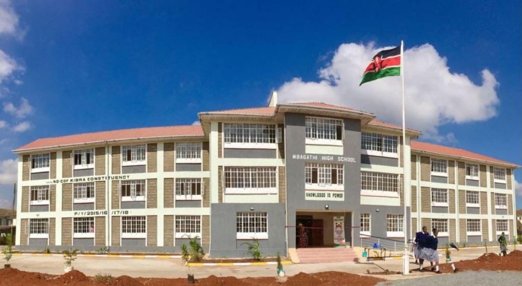 Mbagathi Secondary School cdf building