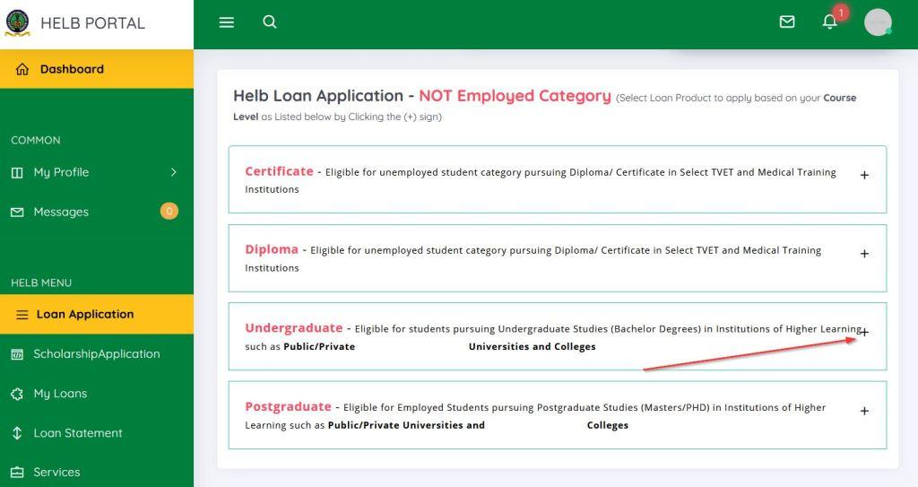 HELB Loan appeal application window open