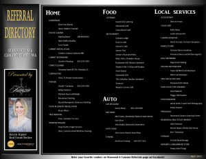 April Referral Directory