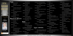 Local Business Directory for Stanwood WA, and Camano Island, WA. Sept 2015 Issue.