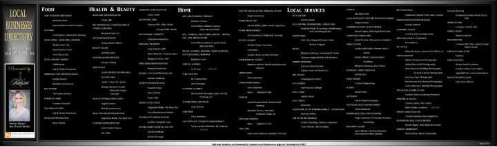 May 2016 Local Businesses Directory