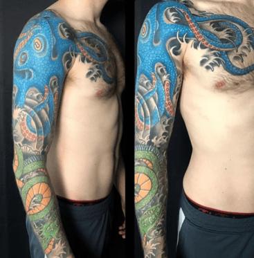 nick tattoo