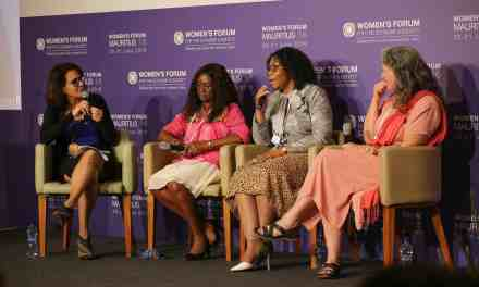 4 FEMMES SCIENTIFIQUES  DE LA FONDATION L'ORÉAL AU WOMEN'S FORUM FOR THE ECONOMY & SOCIETY