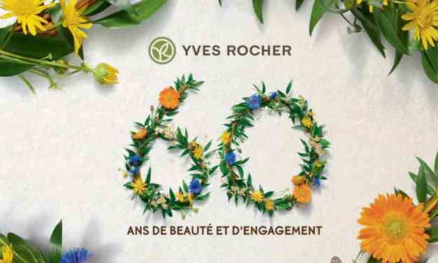 YVES ROCHER: 60 ANS, 60 ENGAGEMENTS