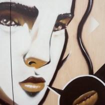Maitland AROMA Festival Mural - Jenny