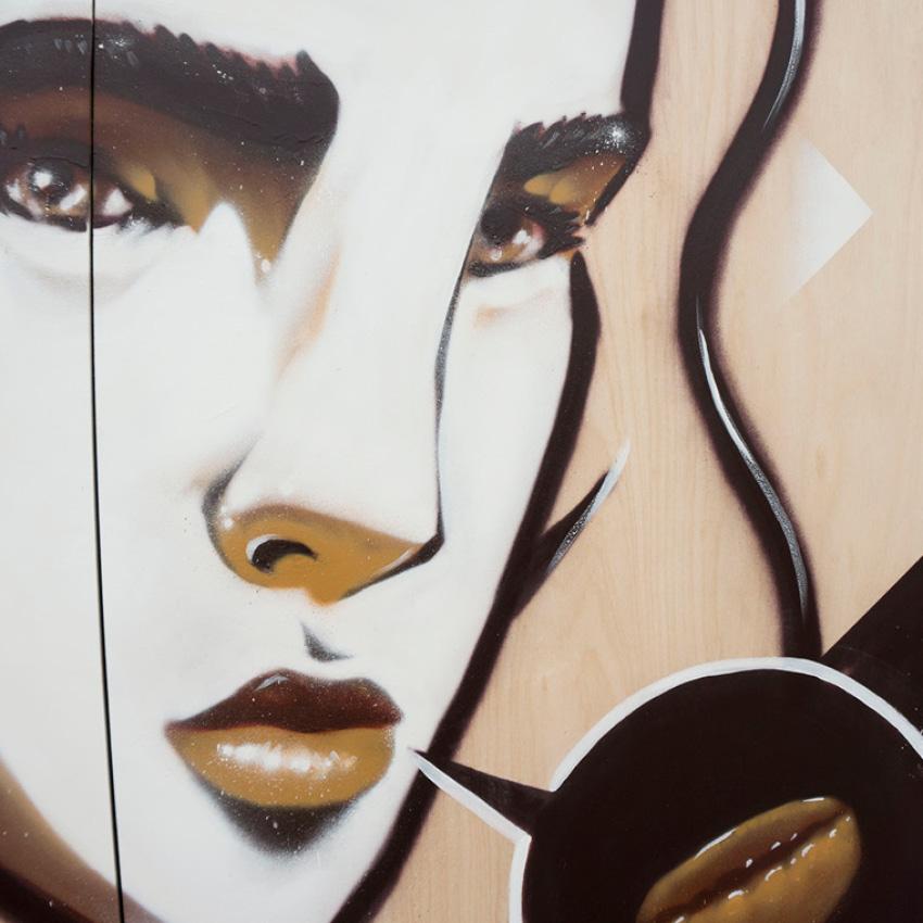 "Maitland AROMA Festival Mural – ""Jenny & June"" – Maitland, Hunter Valley"