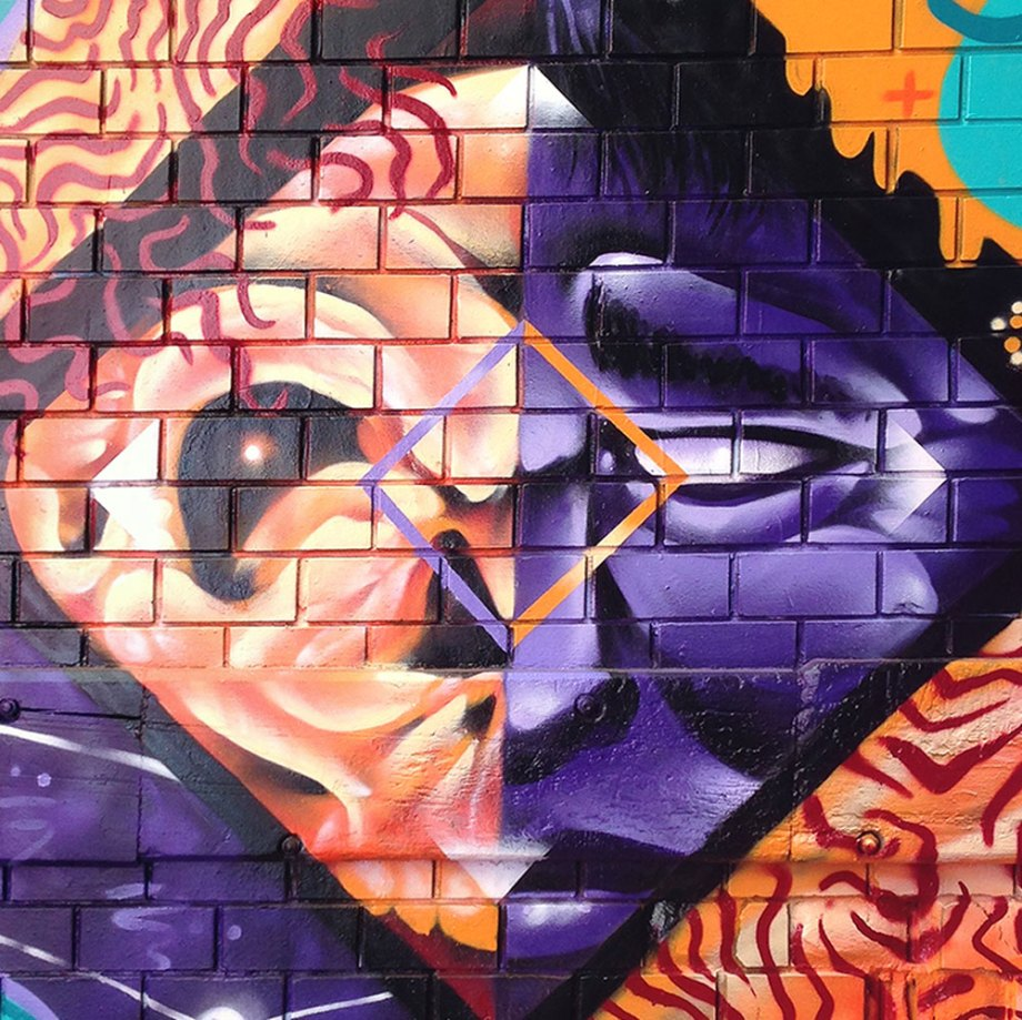 WEWF Street Art Piece – Meeting of Styles 2016 – Melbourne