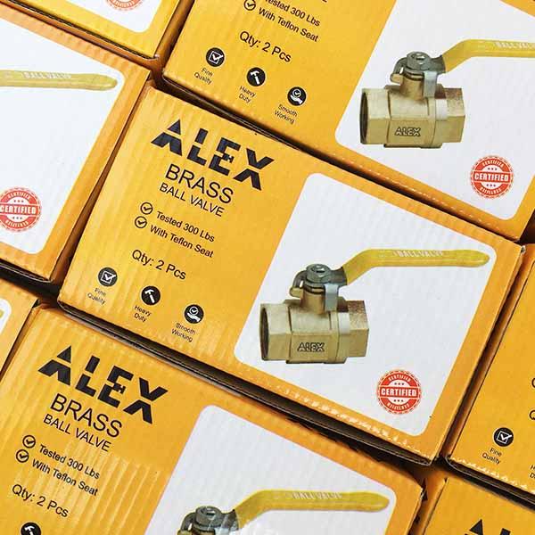 Alex Packaging Design by Keon Designs