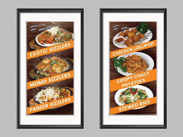 Food Outlet Design Poster2