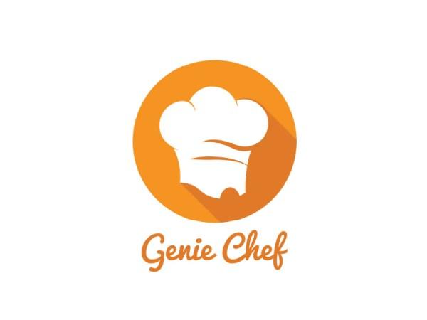 Genie-Chef-Logoby-keon-design