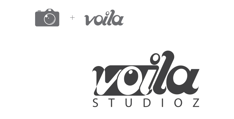Ideations-of-camera-+-Voila-logo-design-by-keon-design