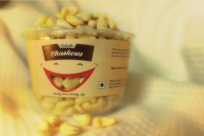 chaahews product packing design by keon designs