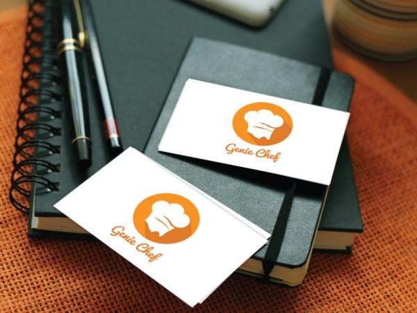logo_gnie_chef - by keon designs