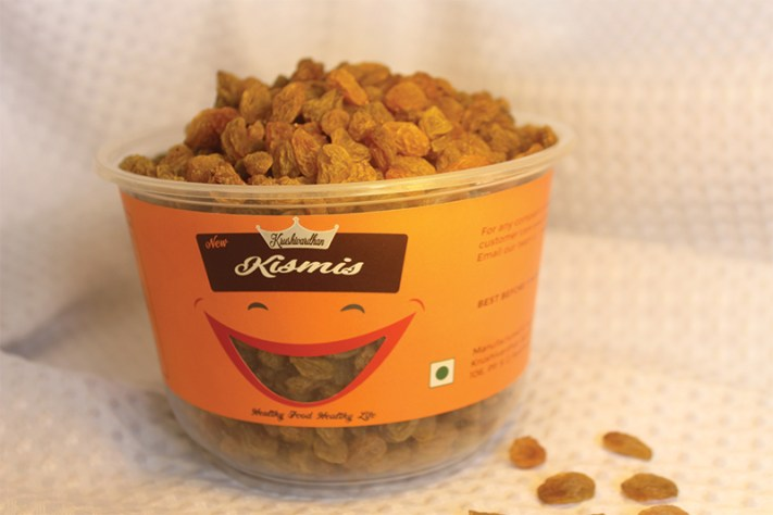 Badam, Pista or Pistacho Kishmis, Cashew Packaging Design for Krushivardhan AgroTech a client of Keon Designs, Pandharpur, Rural Maharashtra, India