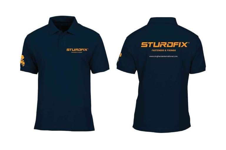 Uniform Design for Sturdfix employees designed by Keon Designs.