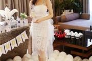 Hot girl Trâm Anh xinh lung linh với loạt váy điệu đà