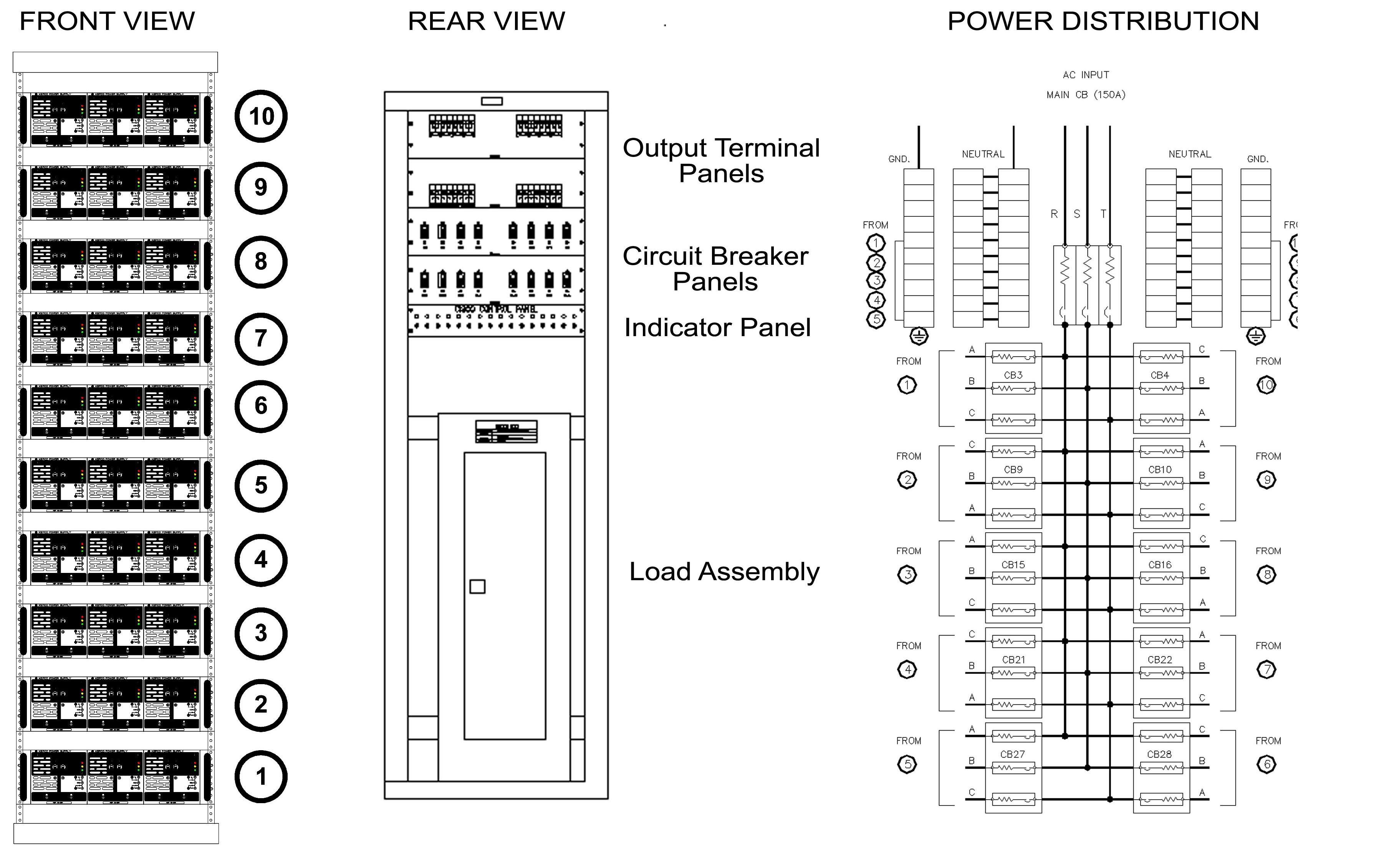 Kepco Inc Dc Power Supplies Dc Power Supply Rack Mountog Programmable Switch Mode N