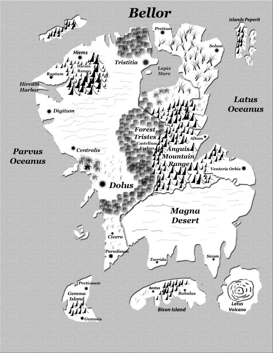 Bellor Map