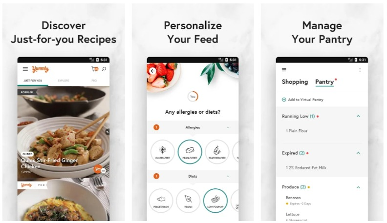 Yummly Recipes & Shopping List - Apps on Google Play