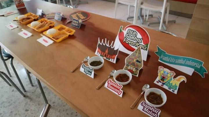 Sambal Nusantara Hokben, Sandingkan Cita Rasa Nusantara Dengan Kuliner Jepang
