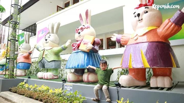 Rabbit Town, Wisata Selfie di Kota Bandung