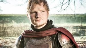 ed sheeran - arya stark - game of thrones