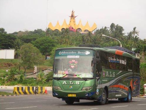 Bus ALS di Lampung - Foto Ichsan Matondang